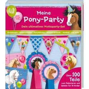 Aktivbuch Meine Pony-Party-Mottoparty-Set