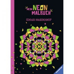 Mein Neon Malbuch: Cooles Kaleidoskop