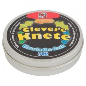 CLEVERE KNETE GLOW IN THE DARK 50GR