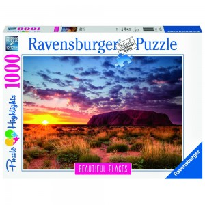 Ayers Rock in Australien Puzzle 1000 Teile