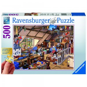 Großmutters Dachboden Puzzle 500 Teile Gold Edition