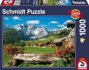 Blick ins Bergidyll Puzzle 1000 Teile
