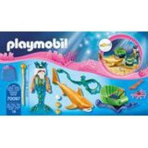 Meereskönig mit Haikutsche Playmobil