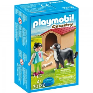 Hofhund mit Hütte Playmobil