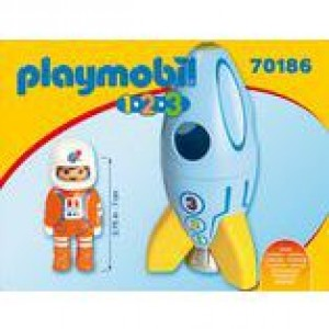Astronaut mit Rakete Playmobil