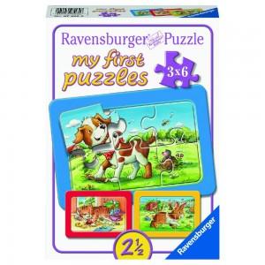 Meine Tierfreunde My first Puzzles