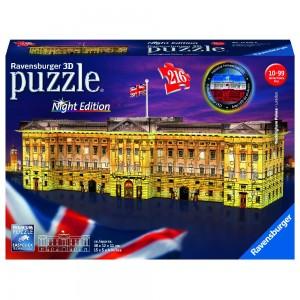 Buckingham Palace bei Nacht 3D Puzzle-Bauwerke
