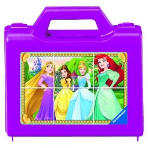 DPR: Funkelnde Prinzessinnen 6 Teile Würfelpuzzle