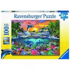 Tropisches Paradies Puzzle 100 Teile XXL