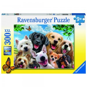 Delighted Dogs Puzzle 300 Teile XXL