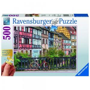 Colmar in Frankreich Puzzle 500 Teile Gold Edition