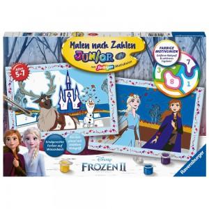 Frozen 2: Freunde fürs Leben Malen nach Zahlen Junior