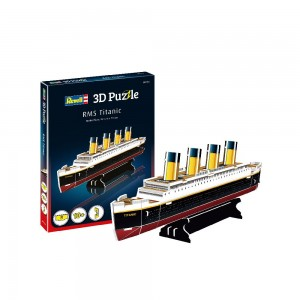 Mini 3D Puzzle RMS Titanic