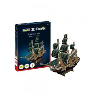 Mini 3D Puzzle Piratenschiff