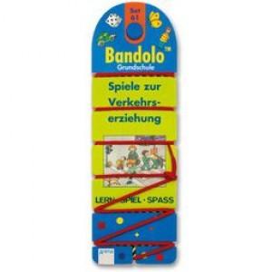 Bandolo Set 61 Spiele zur Verkehrserziehung