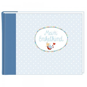Eintragalbum BabyGlück-Mein Enkelkind hellblau