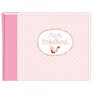 Eintragalbum BabyGlück-Mein Enkelkind rosa