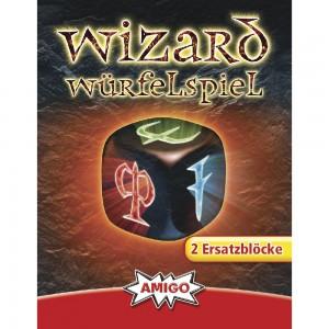 Wizard Würfelspiel Ersatzblöcke 2 Stk.