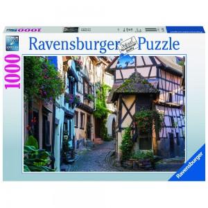 Egnisheim im Elsass 1000 Teile Puzzle