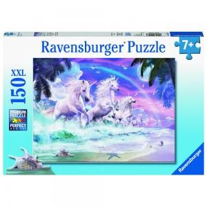 Einhörner am Strand Puzzle 150 Teile XXL