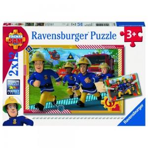 FS: Sam und sein Team Puzzle 2 x 12 Teile