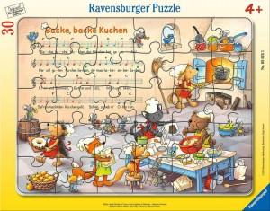 Backe, backe Kuchen Rahmenpuzzle 30-48 Teile
