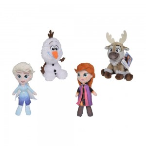 Disney Frozen 2 Friends, 15cm sort.
