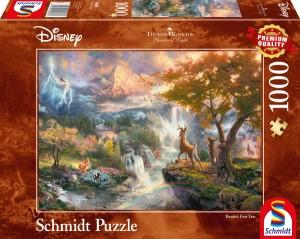 Disney, Bambi Puzzle 1000 Teile Thomas Kinkade