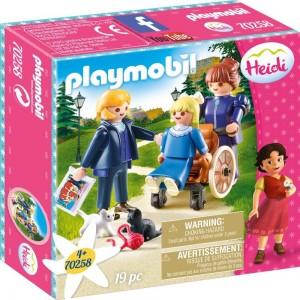 Clara mit Vater und Fräulein Rottenmeier Playmobil 70258
