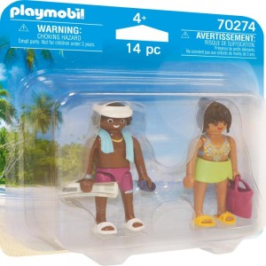 DuoPack Urlauberpaar Playmobil 70274
