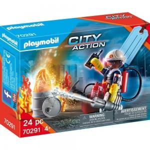 "Geschenkset ""Feuerwehr"" Playmobil 70291"