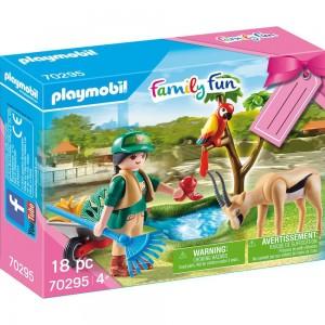 """Geschenkset """"Zoo"""" Playmobil 70295"""