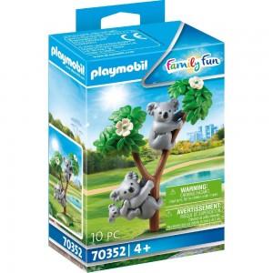 2 Koalas mit Baby Playmobil 70352