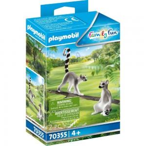 2 Kattas Playmobil 70355