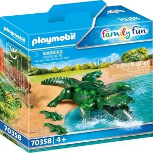 Alligator mit Babys Playmobil