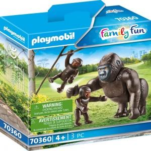 Gorilla mit Babys Playmobil