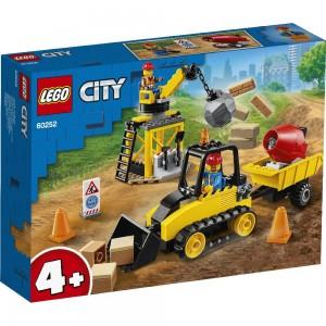 Bagger auf der Baustelle LEGO® City 60252