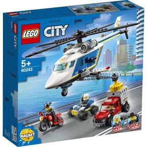 LEGO® City 60243 Verfolgungsjagd mit dem Polizeihubschrauber