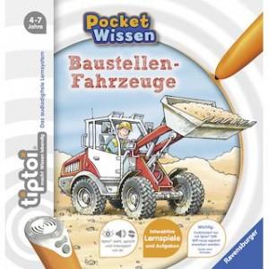 tiptoi® Pocket Baustellenfahrzeuge