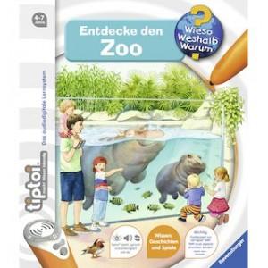 tiptoi® WWW Bd. 20, Entdecke den Zoo