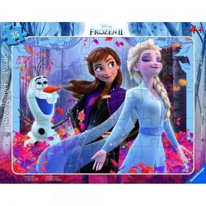 Magische Natur Frozen 2 Rahmenpuzzle 30-48 Teile