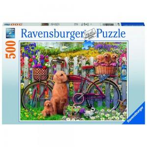 Ausflug ins Grüne Puzzle 500 Teile