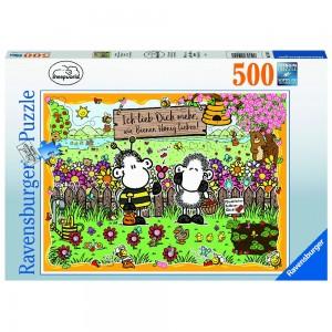 Bienenliebe Puzzle 500 Teile