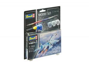 Model Set Suchoi Su-27 Flanker