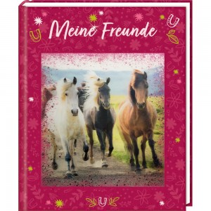 Freundebuch: Pferdefreunde-Meine Freunde
