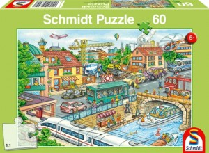 Fahrzeuge und Verkehr Puzzle 60 Teile