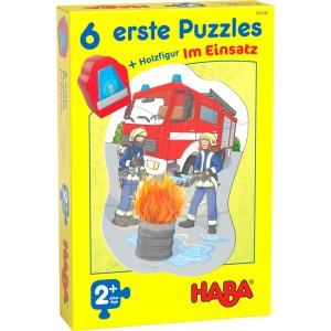 6 erste Puzzles – Im Einsatz HABA