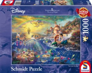 Disney, Arielle Puzzle 1000 Teile Thomas Kinkade