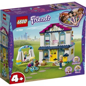 4+ – Stephanies Familienhaus LEGO® Friends 41398