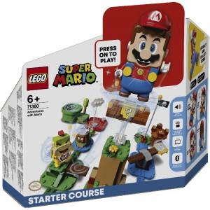 Abenteuer mit Mario – Starterset LEGO® Super Mario 71360